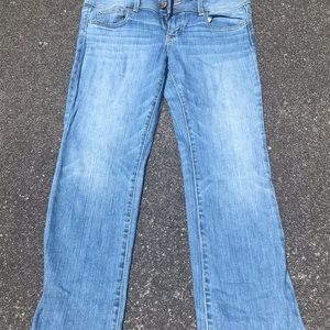 Comfy non distressed American eagle jeans!